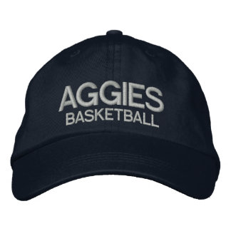 Aggies Personalized Adjustable Hat Embroidered Baseball Caps