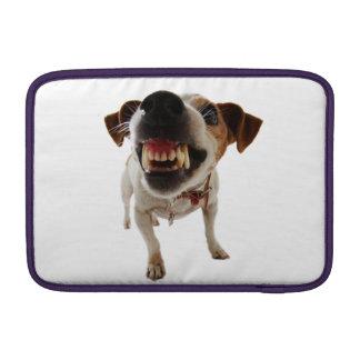 Aggressive dog - angry dog - funny dog MacBook sleeve