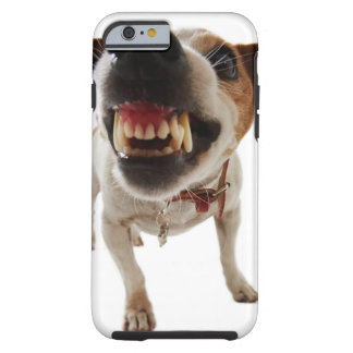 Aggressive dog - angry dog - funny dog tough iPhone 6 case