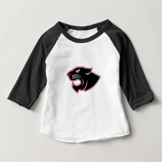 Aggressive Panther Head Icon Baby T-Shirt