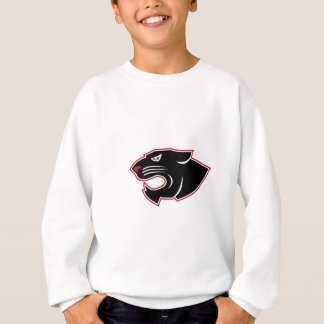 Aggressive Panther Head Icon Sweatshirt
