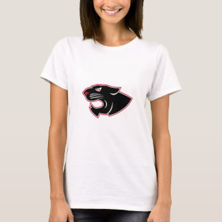 Aggressive Panther Head Icon T-Shirt