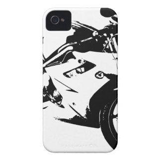 aggressive sport motorcycle iPhone 4 covers