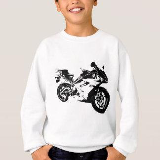 aggressive sport motorcycle sweatshirt