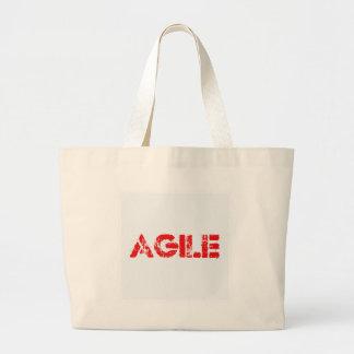 Agile agenda large tote bag