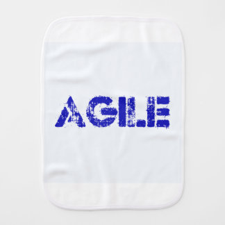 Agile BLUE Burp Cloth