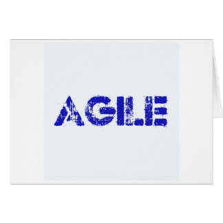Agile BLUE Card