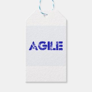 Agile BLUE Gift Tags
