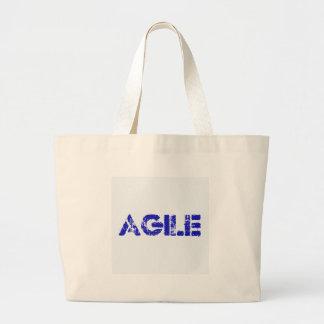 Agile BLUE Large Tote Bag
