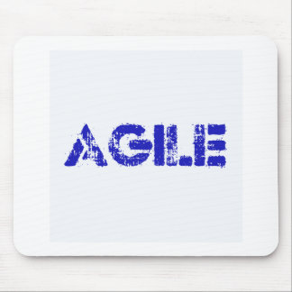 Agile BLUE Mouse Pad