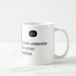 Agile Manifesto cup III.