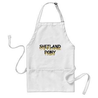 Agile Shetland Pony Standard Apron