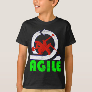 Agile Workers - vintage style T-Shirt