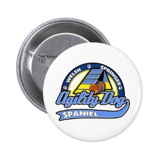 Agilité de springer spaniel de Gallois de base-bal Badge Avec Épingle