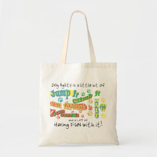 Agility Actions Tote Bag