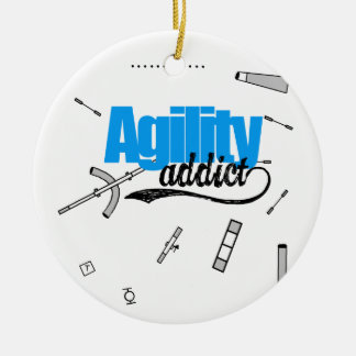 Agility Addict Ornament
