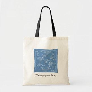 Agility Big Plan - Stick Dog Budget Tote Bag