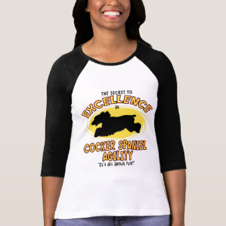 Agility Cocker Spaniel Secret T-Shirt