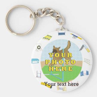 Agility Customize Photo Key Chains