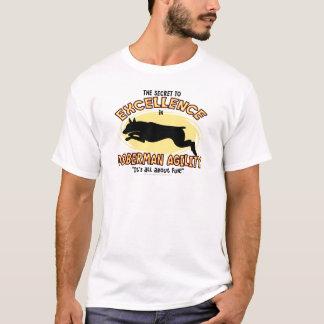 Agility Doberman Pinscher Secret T-Shirt