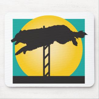 Agility Dog Mouse Pad