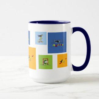 Agility dogs mug