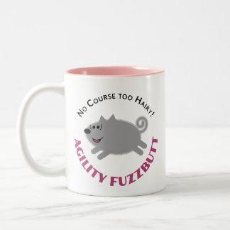 """Agility FuzzButt""  Spitz Agility Mug"
