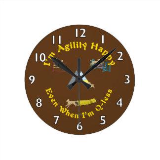 Agility Happy Wall Clocks