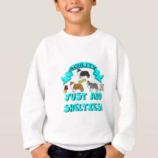 Agility - Just Add Shelties Sweatshirt
