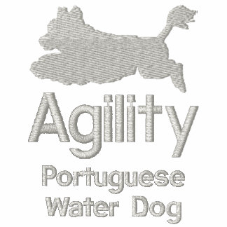 Agility Portuguese Water Dog