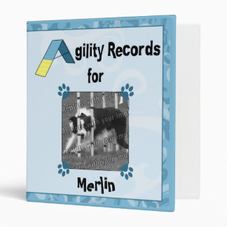 Agility Records Binder (Blue)