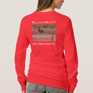 Agility Shirt with Doberman