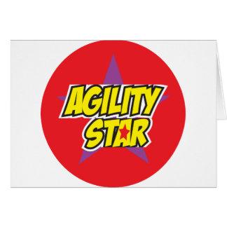 Agility Star Card