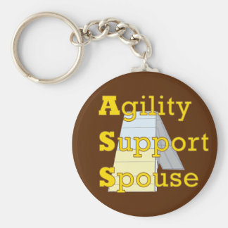 Agility Support Spouse 1 Keychain
