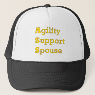 Agility Support Spouse 2 Trucker Hat