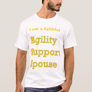 Agility Support Spouse Tee Shirt