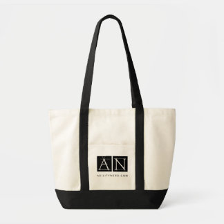 AgilityNerd Tote Bag With Snazzy Black Logo