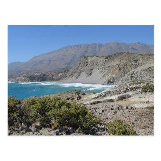 Agios Pavlos, Crete Beach Postcard