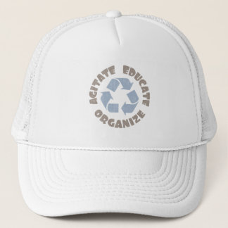 """Agitate Educate Organize"" Trucker Hat"