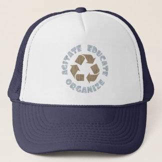 agitate-recycle-DKT Trucker Hat