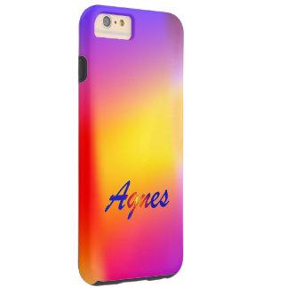 Agnes Fine iPhone case