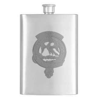 Agnew Clan Badge Classic Flask