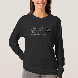 Agnostic Alliance Truth Love Dark T-Shirt Ladies