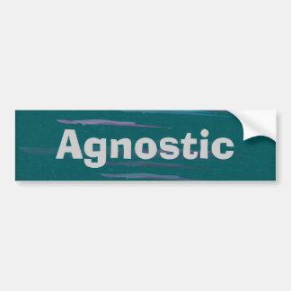 Agnostic Bumpter Sticker Car Bumper Sticker
