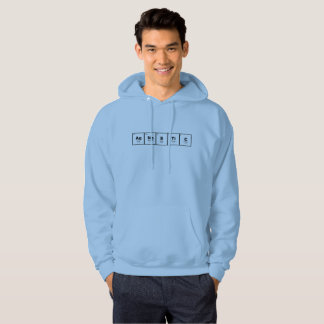 Agnostic periodic table of elements nerdy hoodie