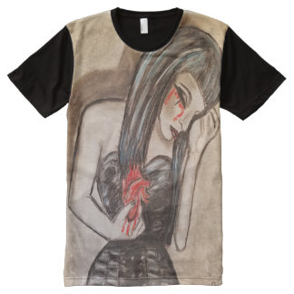 Agony All-Over-Print T-Shirt