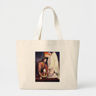 Agony in the Garden Large Tote Bag