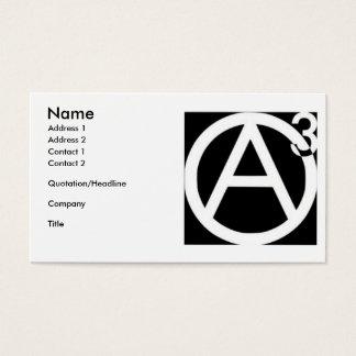 Agorist business cards