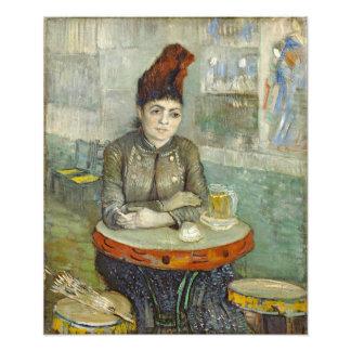 Agostina Segatori in Cafe du Tambourin by Van Gogh Photograph
