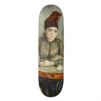 Agostina Segatori in Cafe du Tambourin by Van Gogh Skateboard Deck